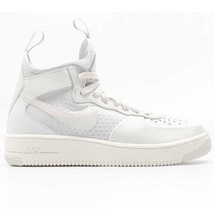 buy popular 60106 95123 Nike Shoes - Nike Air Force 1 Ultraforce Mid Summit White